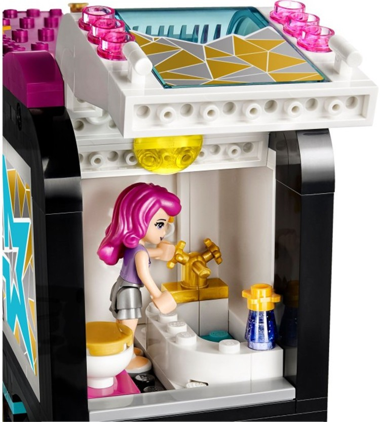 UKLego Friends Pop Star Tour Bus Toy Set.