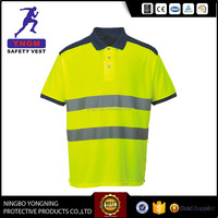 Hi-Vis Contrast Polo Shirt with high quality in China