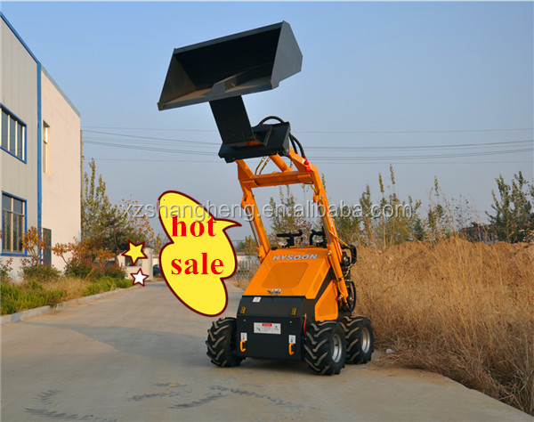 Hysoon Hy380 Mini Skid Steer Loader for sale