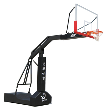 FIBA genehmigt tragbare outdoor basketball hoop basketball stand basketball backstop HKF-1009