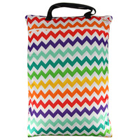 Large Hanging Wet/dry Cloth Diaper Pail Bag for Reusable Diapers
