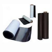 Wholesale isotropic rubber flexible magnetic vinyl roll, magnet adhesive vinyl in rolls