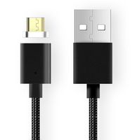 3 In 1 Flexible Magnetic Fast USB Charger Cable For Samsung IOS Android Mobile Charging Cable