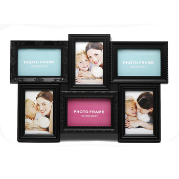 Family Warmth Style Multi Frame Collage 6-opg Multi Photo Frame Wall ...