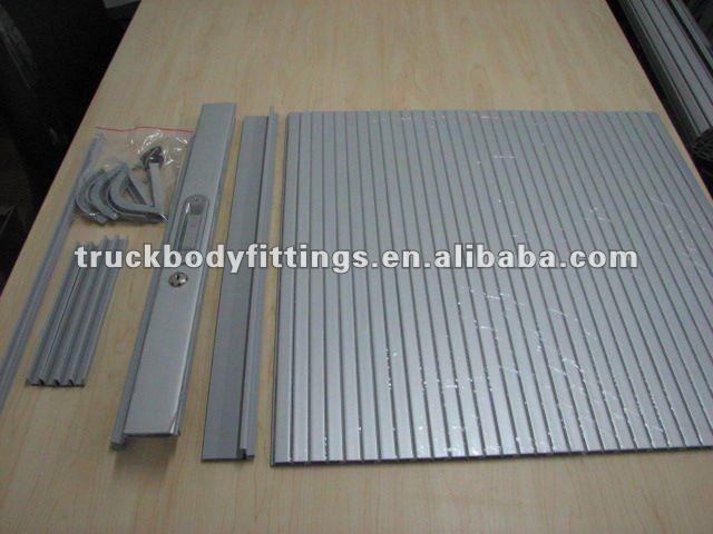 Kitchen Aluminum Sliding Kitchen Cabinet Roller Shutters