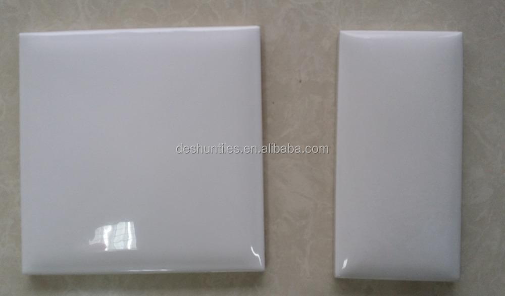 75x152mm keuken muur decoratieve witte keramische tegels tegels ...