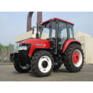 cheapest big tractor 90HP JINMA 904 farm tractor with A/C Cabin