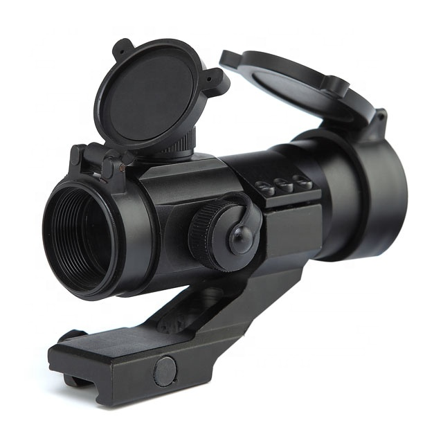Red Dot Sight with11 Livelli di Luminosità, Weaver/Picatinny Mount Red Dot per la Caccia