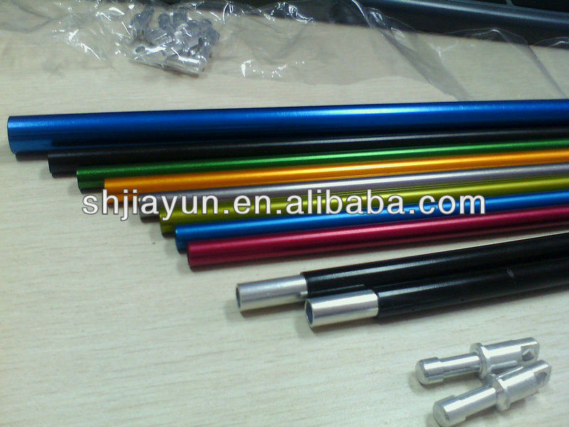 various sizes 6063 t5 aluminum square tube connector