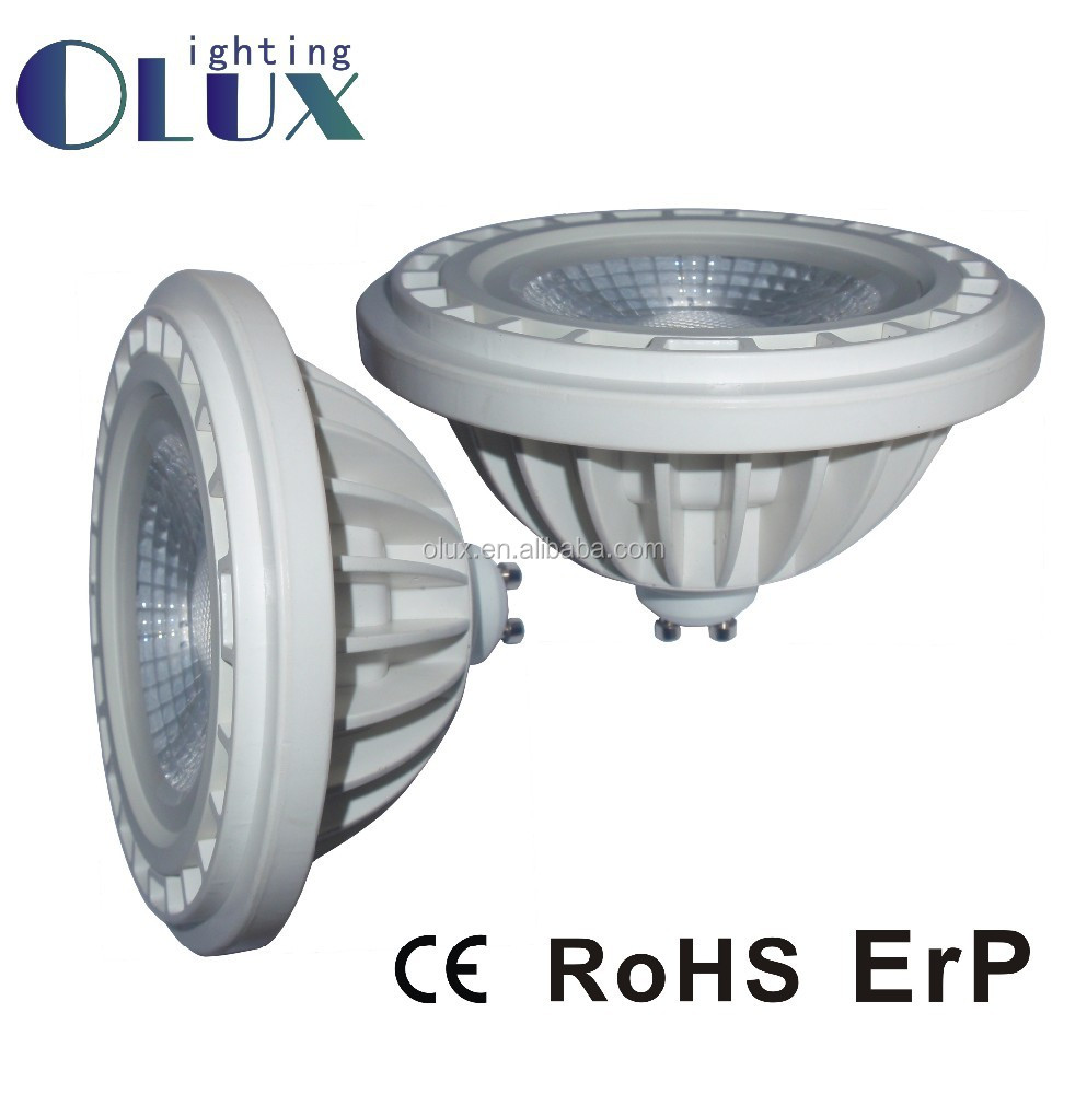 2016 newest product! CE approved 15W Led AR111, G53 GU10 Led AR111 spotlight, 3000K AR111 led light