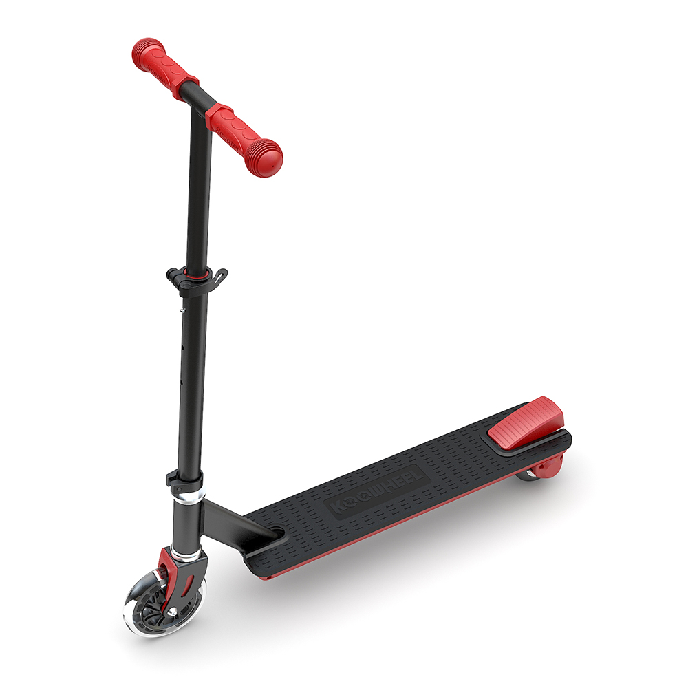 Koowheel 100 watt stand up light weight small kids electric kick scooter with two wheels