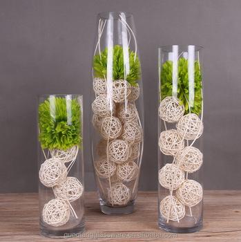 Cilindro a forma di fiore decorazione domestica vaso di for Decorazione vasi