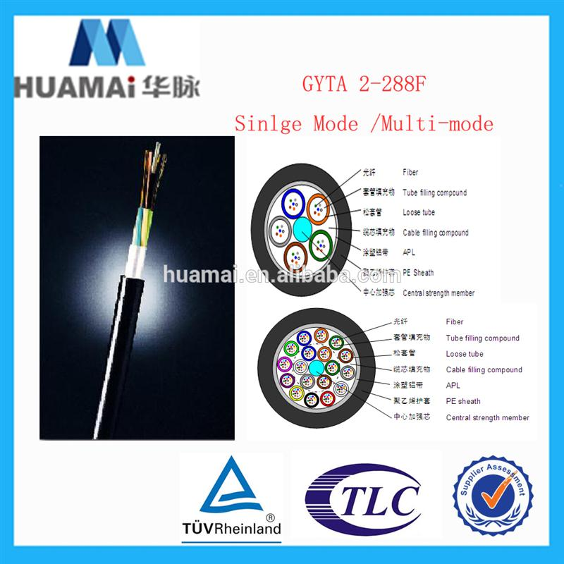 5 years warrantee flexibility tactical fiber optic cable