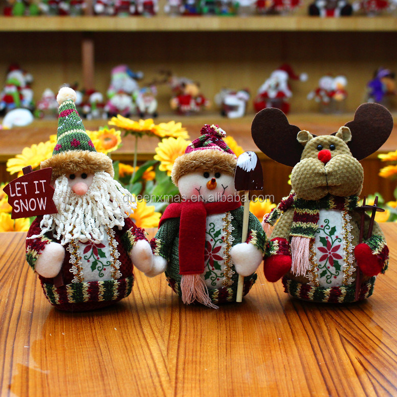 Fast Delivery Wholesale Christmas Table Decorations