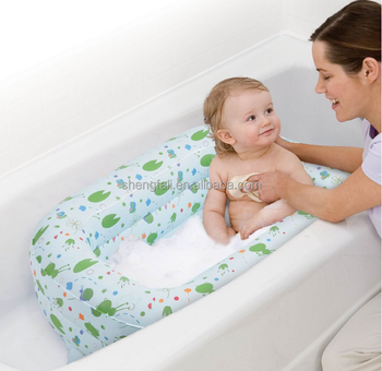 Inflatable baby bathtub for new design folding bathtub