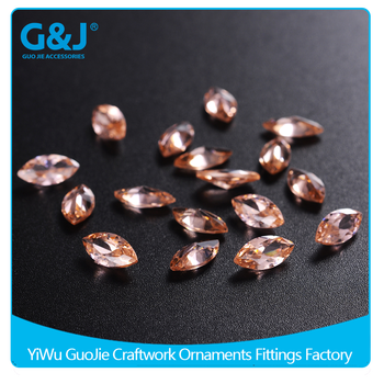 GuoJie brand Manufacturer Marquise Shape Jewelry Making Loose Diamonds crystal