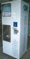 Automatic 24hours self service water kiosk/water vendor