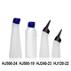 HDPE Plastic squeeze bottle with nozzle,plastic e-liquid plastic squeeze bottle