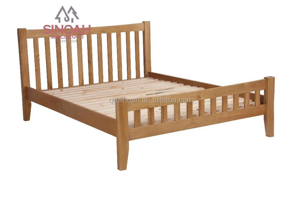 Eiken meubelen moderne slaapkamer set dubbele houten bed bedden product id 60147849699 dutch - Slaapkamer houten ...