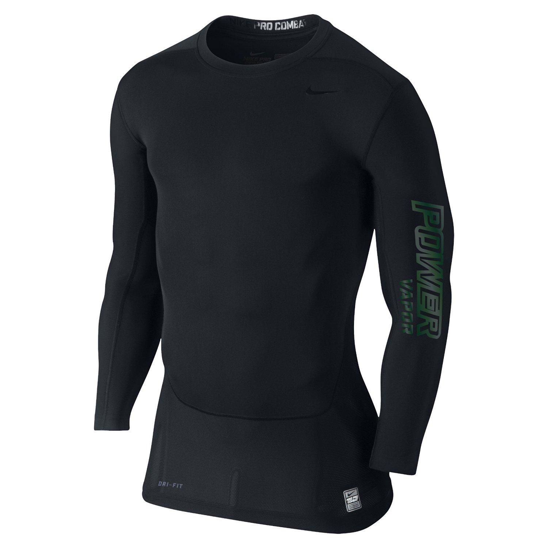 349d12ad9071 Get Quotations · Nike Mens Pro Combat Hypercool Vapor Power Compression  Shirt Black