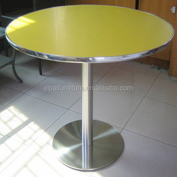 Folding Round Table Top.Dinning Stainless Steel Table Coffee Shop Table Round Table Top Folding Ypt40 Buy Stanless Steel Table Coffee Shop Table Table Folding Product On