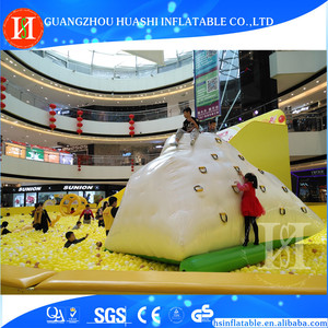 Different kinds of commercial use inflatable iceberg water toy for sale