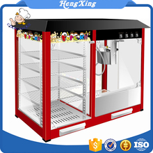 Hot sale Commercial industrial frying popcorn machine WITH Warming Showcase price for sale