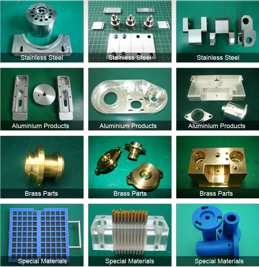 aluminium cnc parts steel cnc parts cnc milling part