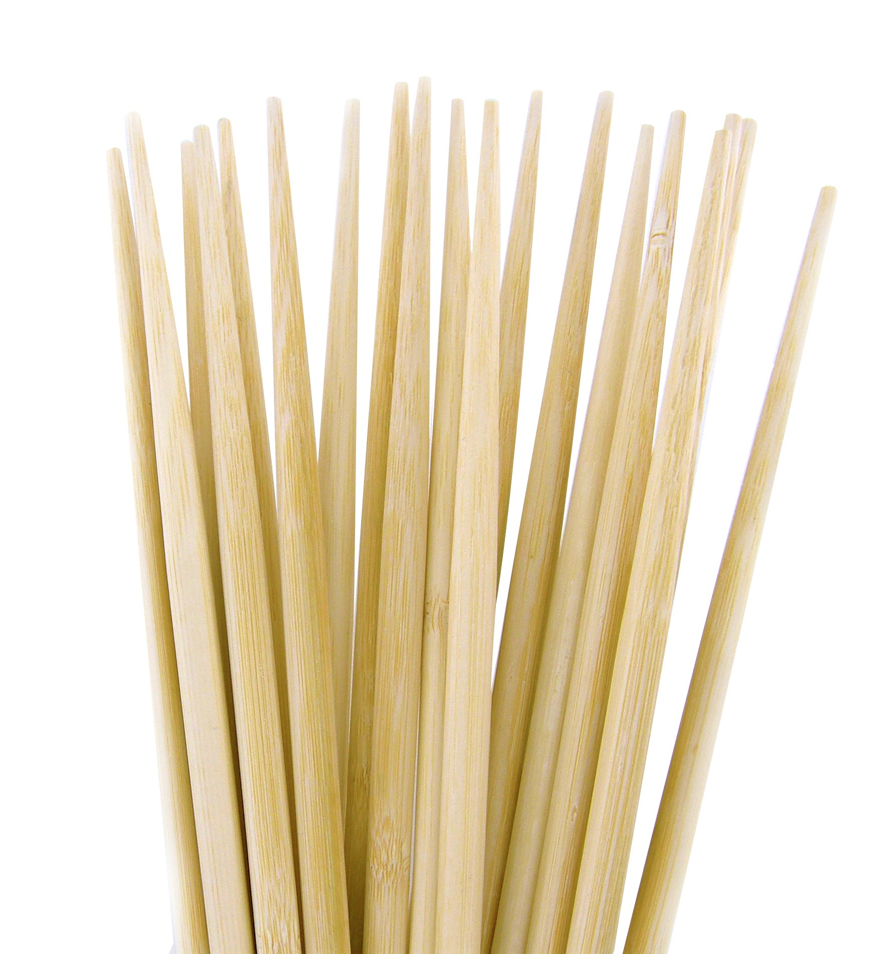10 Pairs 18 Inches Long Natural Eco Friendly Bamboo Chopsticks Strong and Light for Noodle Flying, Long cooking Bamboo Sticks and Chopsticks for Cooking, Hot pot Chopsticks