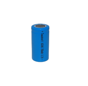 16430 3.7v 700mAh rechargeable battery li ion battery