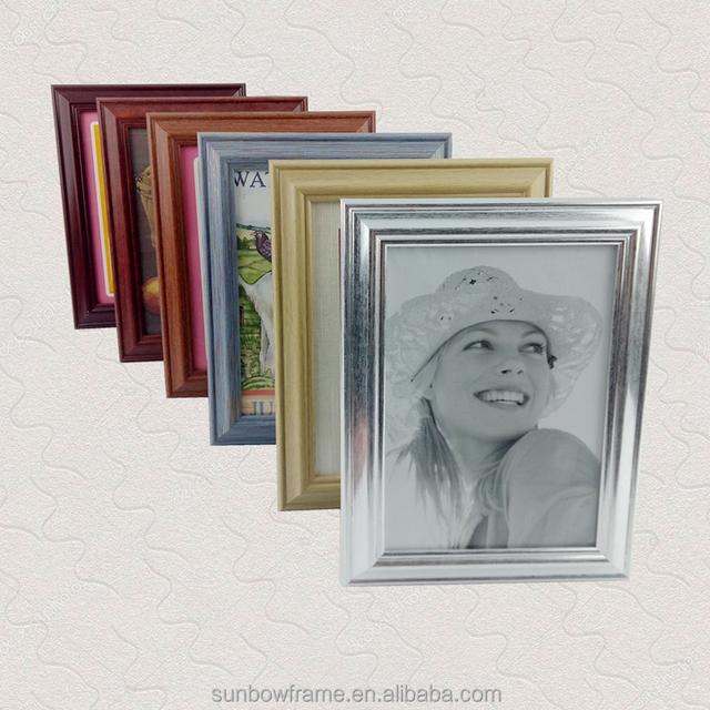 china manufacturer silver mini plastic picture photo frame bulk - Mini Picture Frames Bulk
