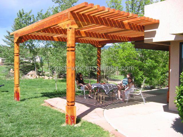 weerbestendig wpc pergola pergola pergola 3x3m moderne. Black Bedroom Furniture Sets. Home Design Ideas