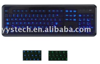 how to make laptop keyboard light up