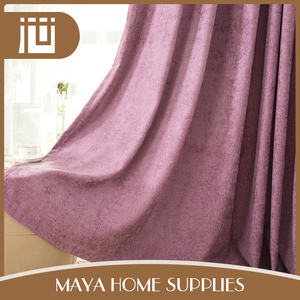 New colorful embroidered design stock lot breathable light proof curtain fabric