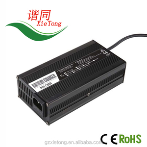 lithium battery 36V 10A charger 42V10A For 36V 30Ah 40Ah 50Ah 60Ah and 70Ah  battery42V 10A powerpor table mobile charger