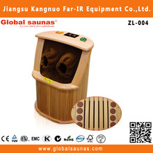 Canadian red cedar infrared rays sauna machine for foot care