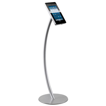Free Floor Standing Android Curved Kiosk Tablet Display Stand