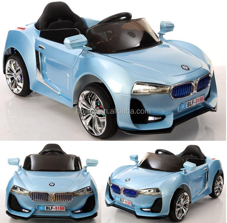 2017 Newest Z4 ride in rechargeable toy car kids electric 24v ride on cars