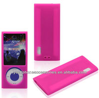 For Ipod Nano 5 Silicone Soft Gel Phone Case
