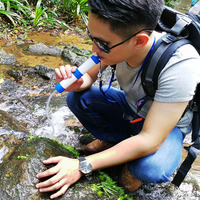 Straw Personal Water Filter, Outdoor Drinking Straight Water Purifier. Dexterous /Portable/security