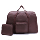 Wholesale foldable waterproof nylon travel duffle bag folding in pouch