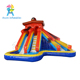 Commercial grade kids love cool splash banzai inflatable water slide with water gun