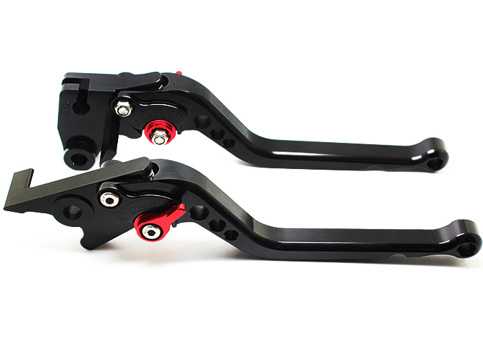 2017 FX cnc racing part brake and clutch levers anordized black red T6 motorbike parts for aprilia rs 250 rs rsv4