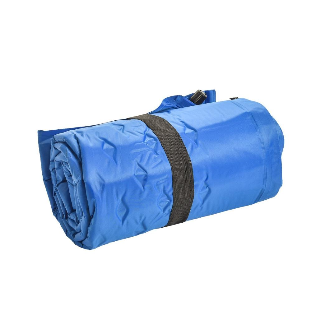 Amazon Hot Sales! Camping Self-Inflating Sleeping Pad with Attached Pillow, Ultralight, Compact, Foldable Sleeping Mat