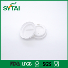 4oz Factory direct sale accept custom biodegradable plastic paper cup lid