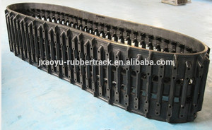 620*90.6*64 ATV Rubber Track for All Terrain Vehicle Hagglunds rubber track,bv206 rubber track Trustful Manufacture