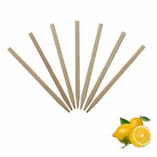 Hot sale cheap espeto para churrasco espetos espeto de bambu plana branco corda seguro
