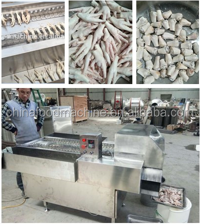 chicken plucker machine /Chicken Feet processing line