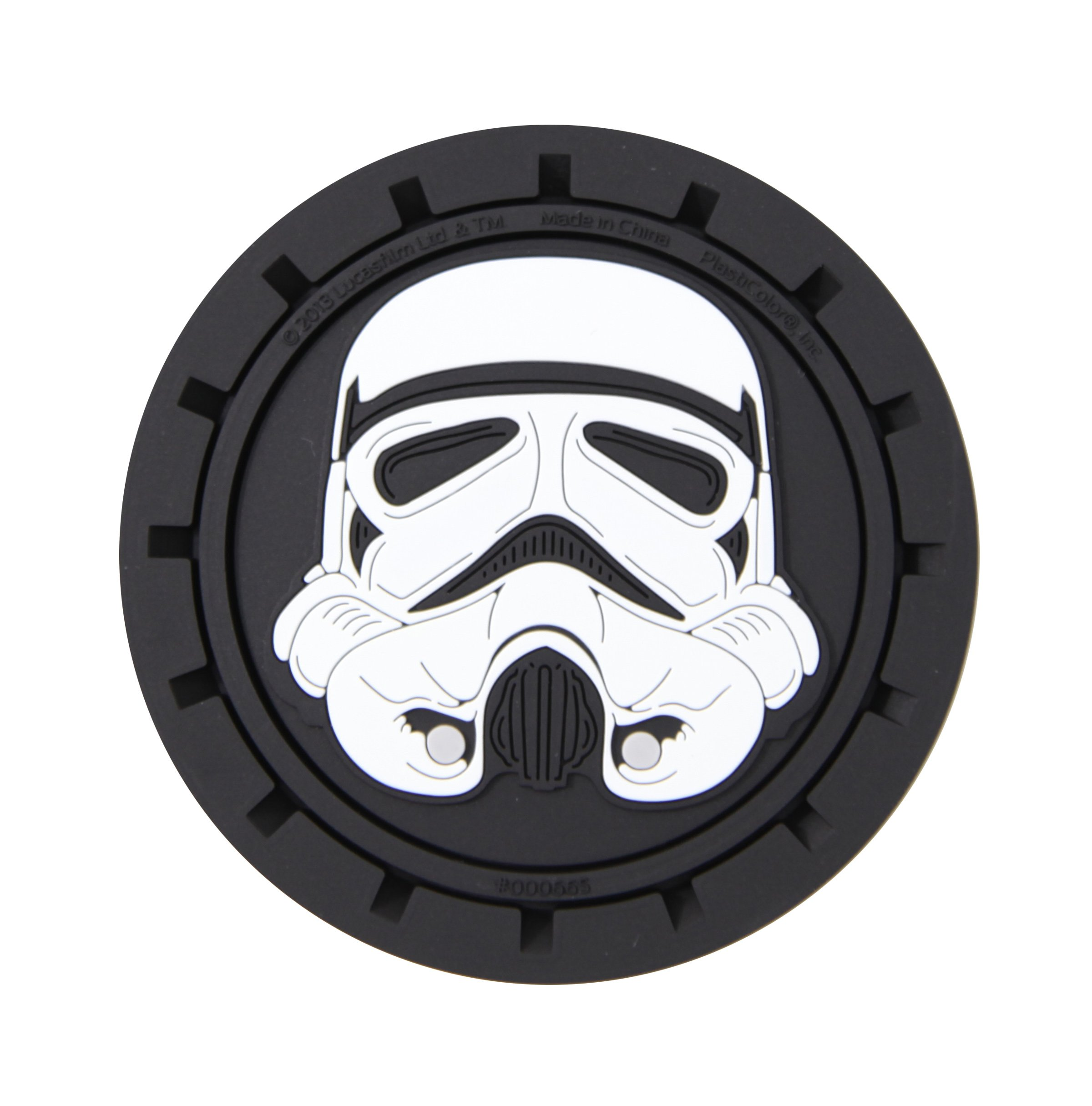 Plasticolor 000665R01 Star Wars Stormtrooper Cup Holder Coaster