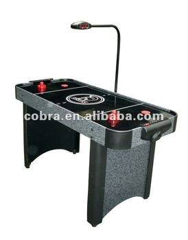 Fashion Ice Air Hockey Table /tabletop Air Hockey Game With Bridge Scorer